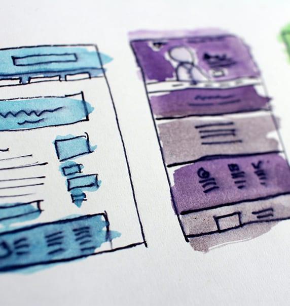 Webdesign UI/UX